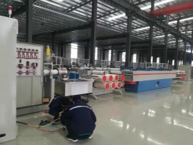 In May 2021, Ropenet installed wire-drawing machines, rope-making machines and other rope net equipment for domestic customers, which received unanimous praise from customers.